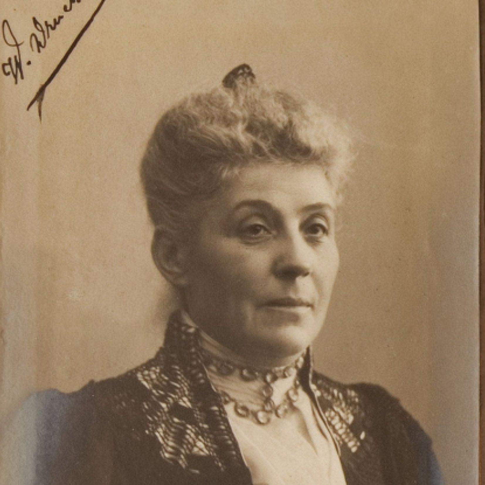Wilhelmina Drucker, 1905